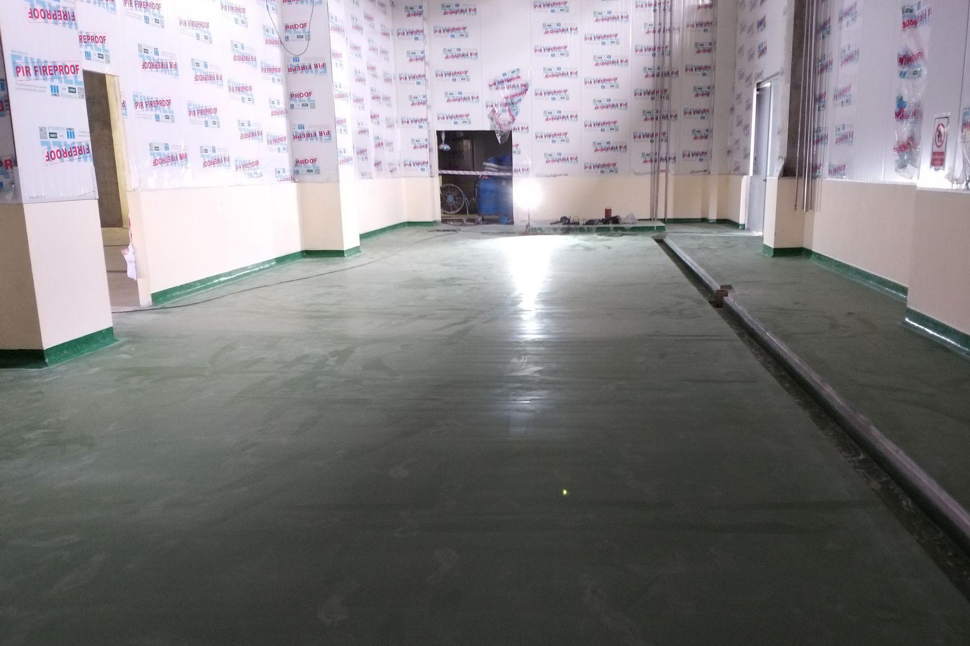 Ajinomoto saraburi using polyurethane modified floor