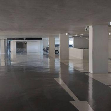 Banyan Tree Residences PUR resin floor in parking area