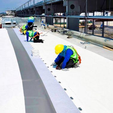 Brose Thailand Rayong using Sika Sarnafil PVC membrane