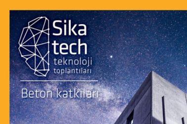 Sika Tech Teknoloji Toplantilari Beton Katkilari
