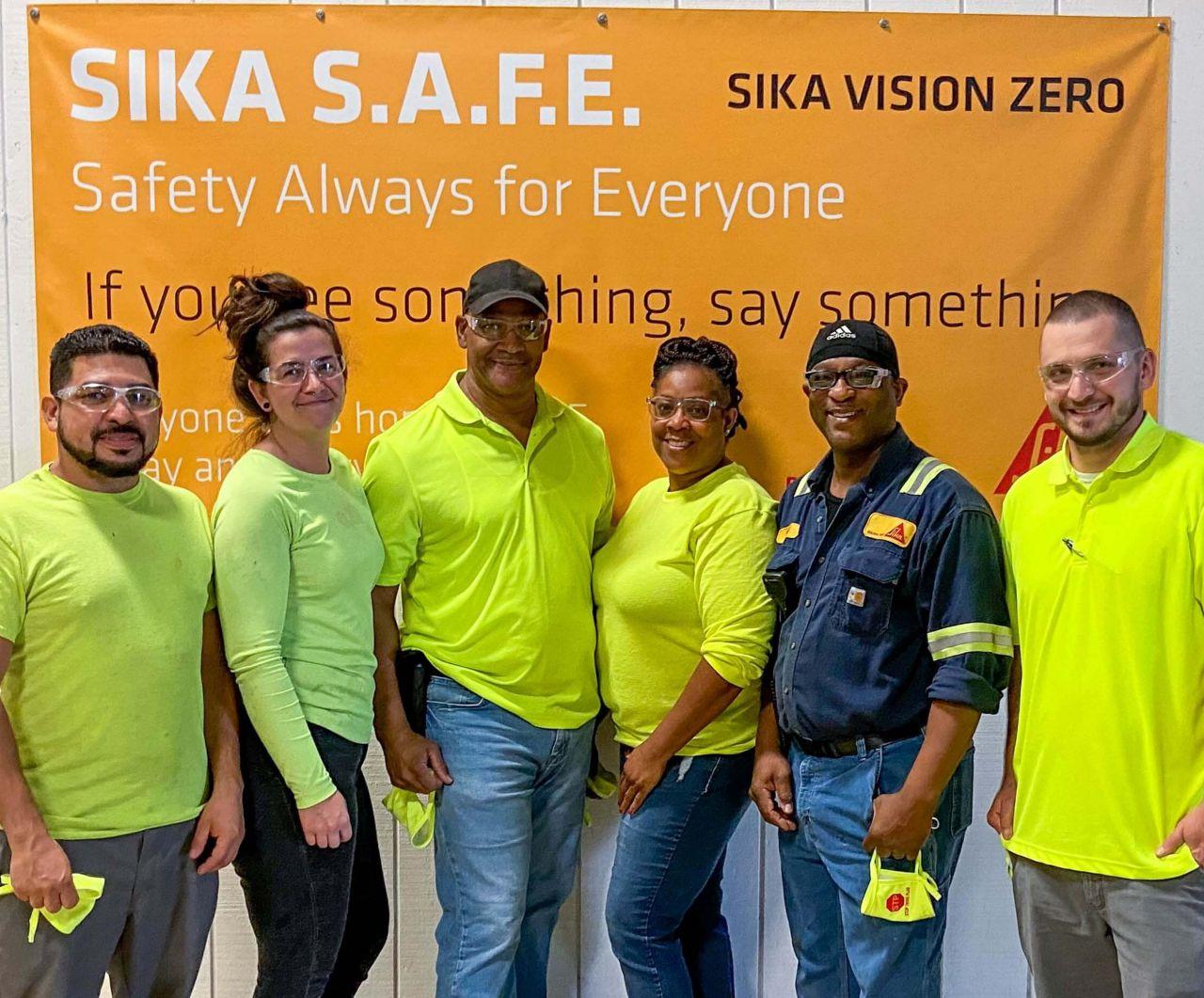 Young group of Diverse Individuals at Sika USA