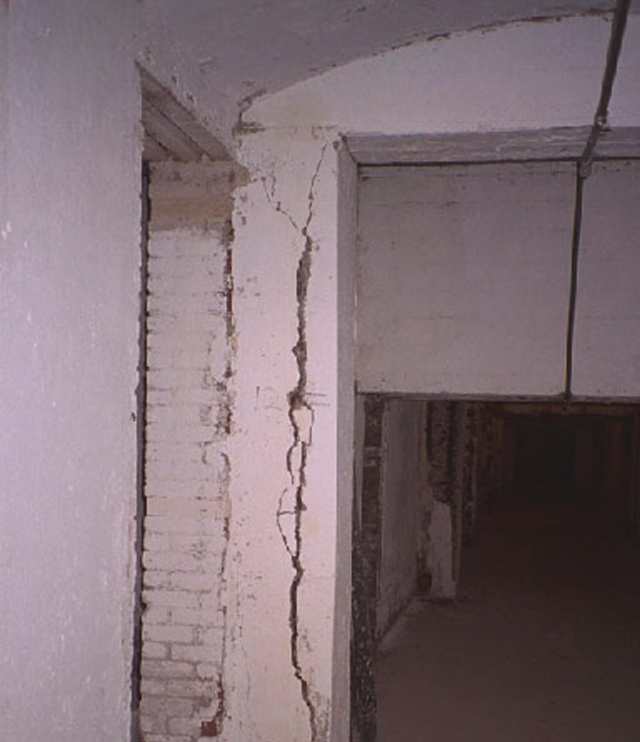 Inside the Alcatraz Building With Cracked Walls