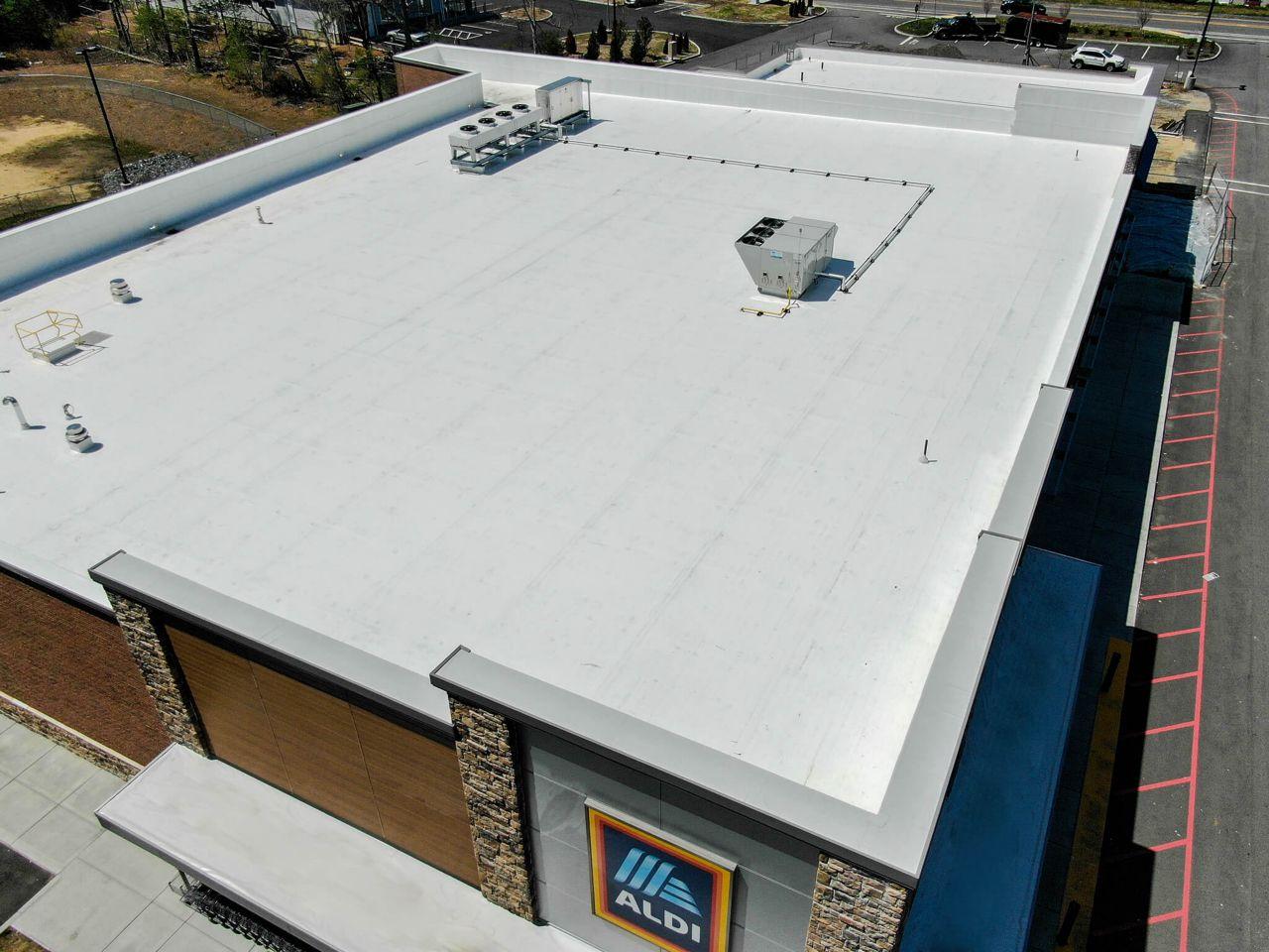 Aldi Grocery Store Sarnafil Roof