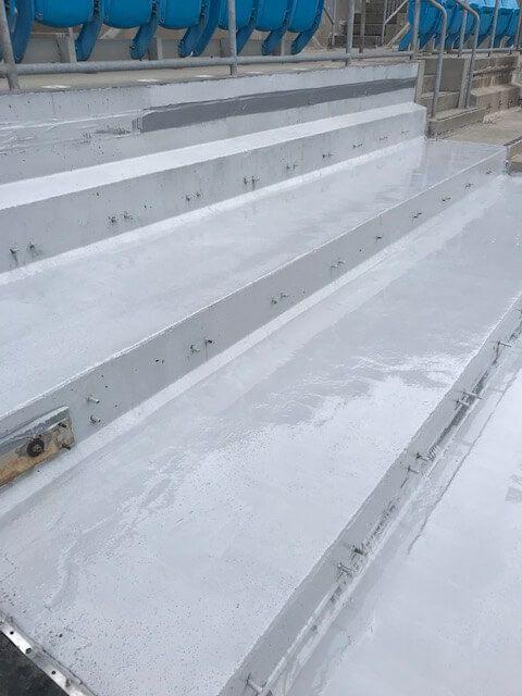 Carolina Panthers Stadium Stairs After Refurbishment