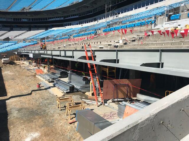 Carolina Panthers Stadium Repairs to Stadium