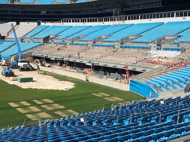 Carolina Panthers Stadium After