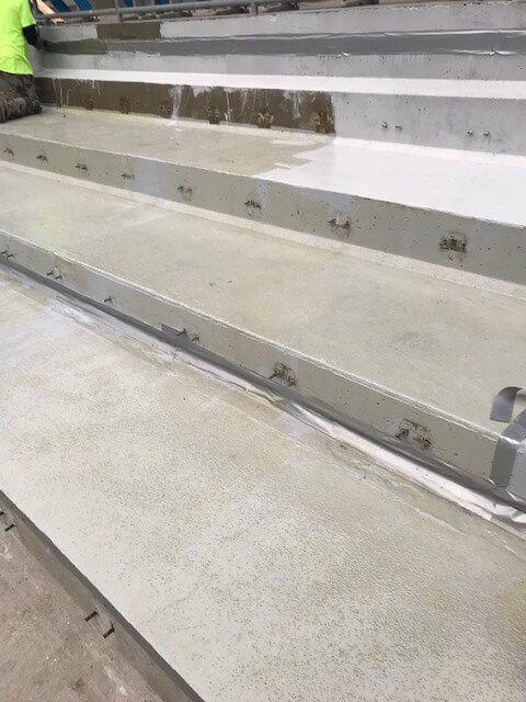 Carolina Panthers Stadium Stairs Before Refurbishment