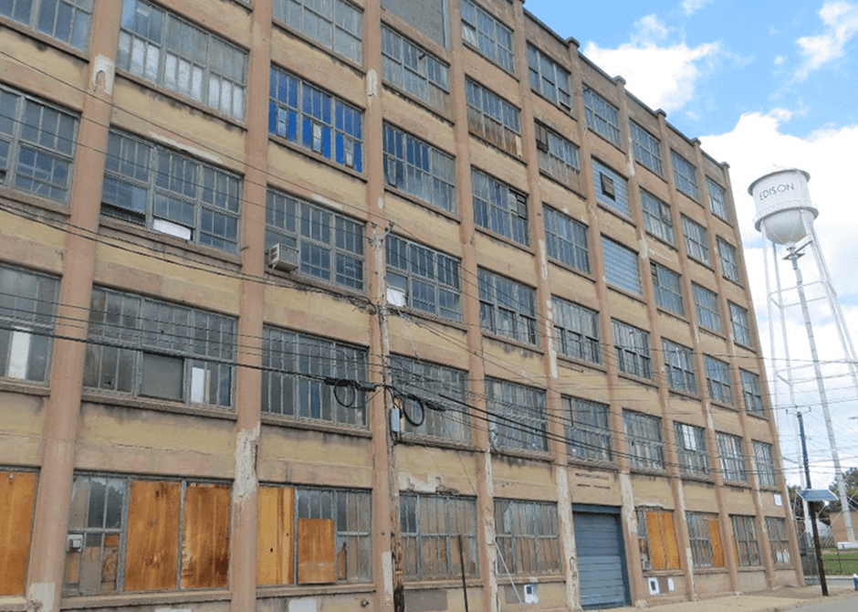 Edison Battery Building before restoration project