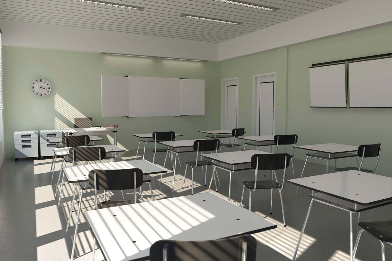 Classroom with ComfortFloor