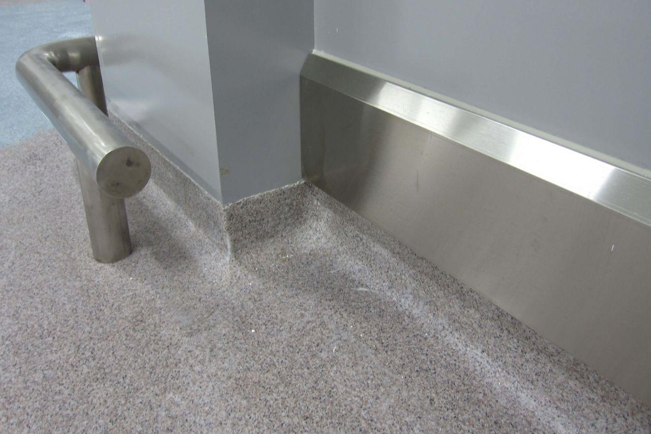 floor corner detail