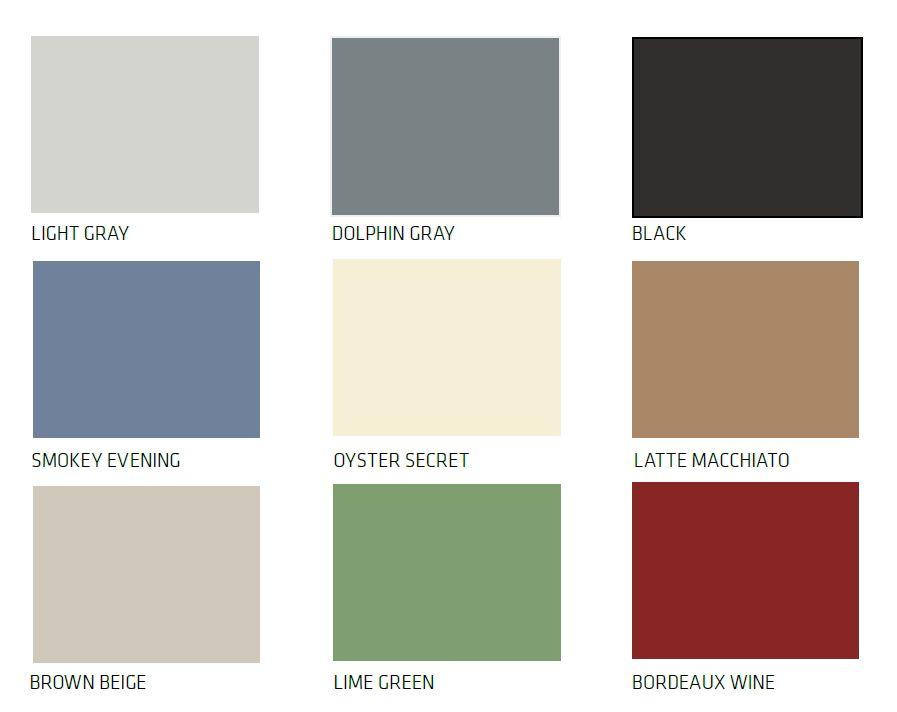 Sikafloor Comfortfloor Color Card