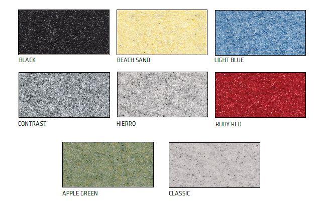 Sikafloor DecoDur Granite Color Card
