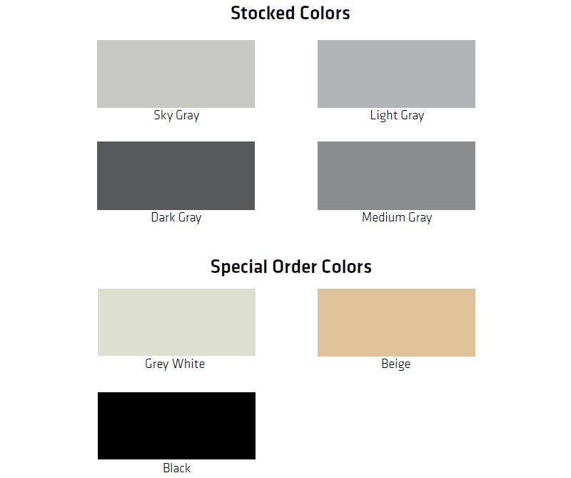 ESD Sikafloor Color Card