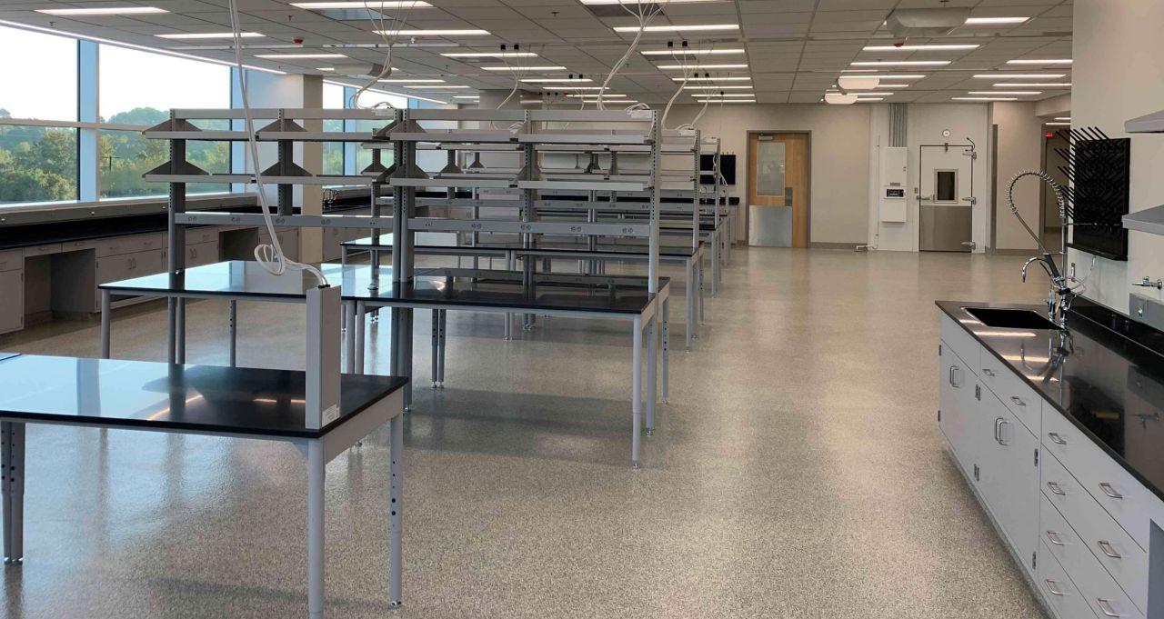 North Carolina Department of Agriculture Flooring Job