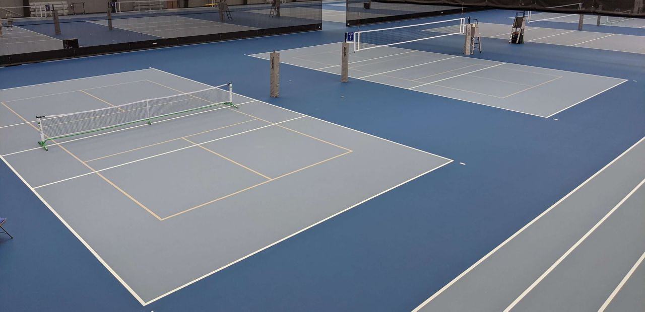 Saint Joe's Sports Center With Sika Pulastic Synthetic Sports Surface System