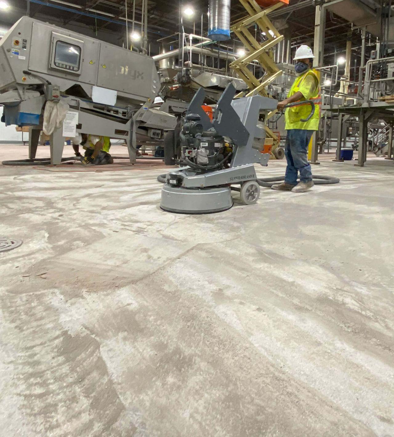 Floor Preparation Machine
