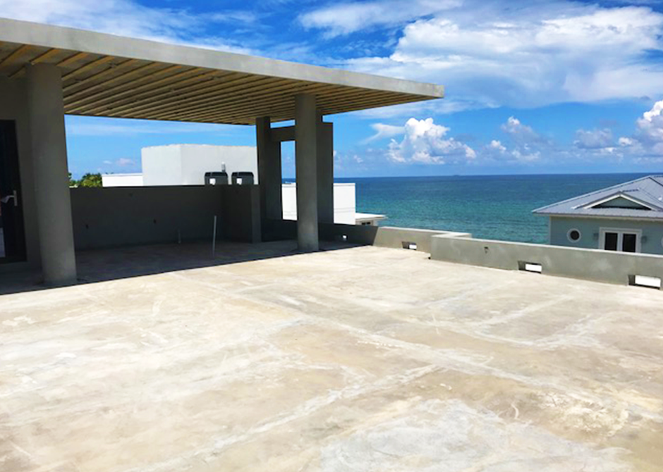 Concrete Building with an Ocean View