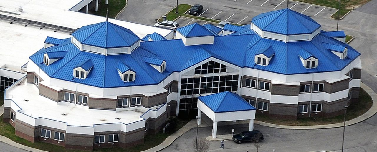Colored Decor roofing system