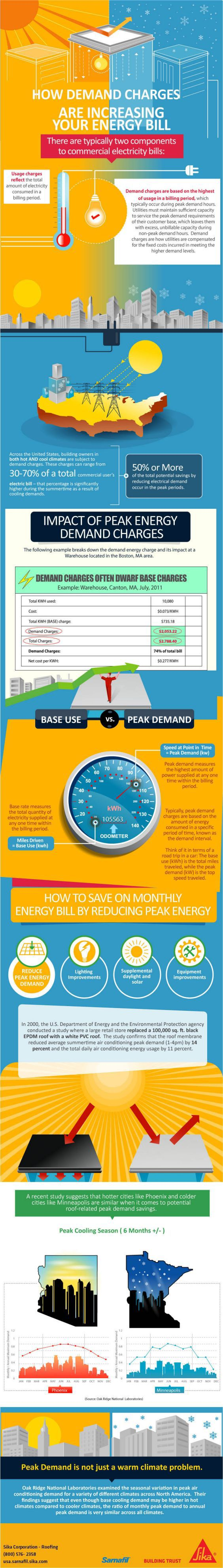 Peak Energy Demand Infographic