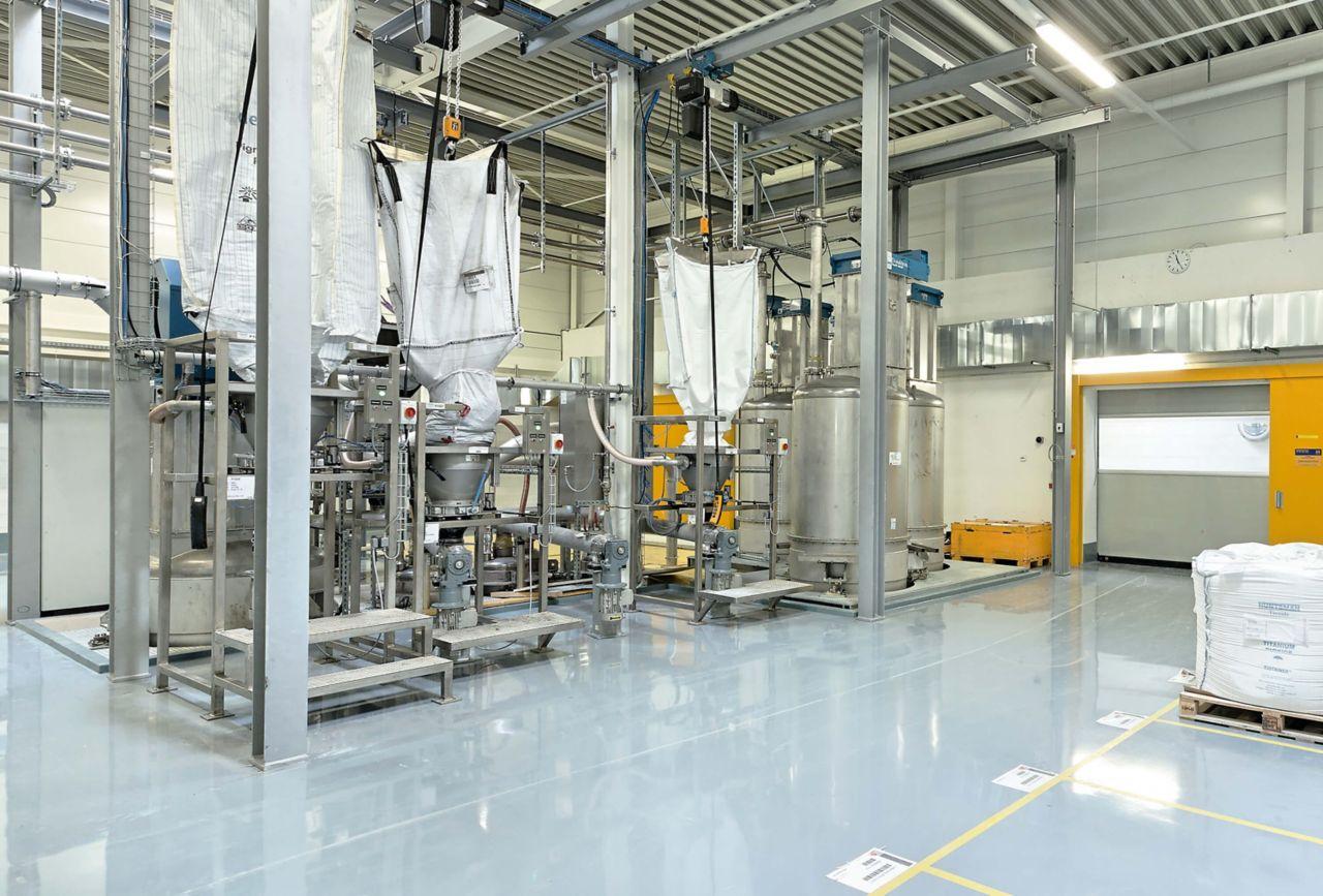 Industrial Floors Mechanical Room