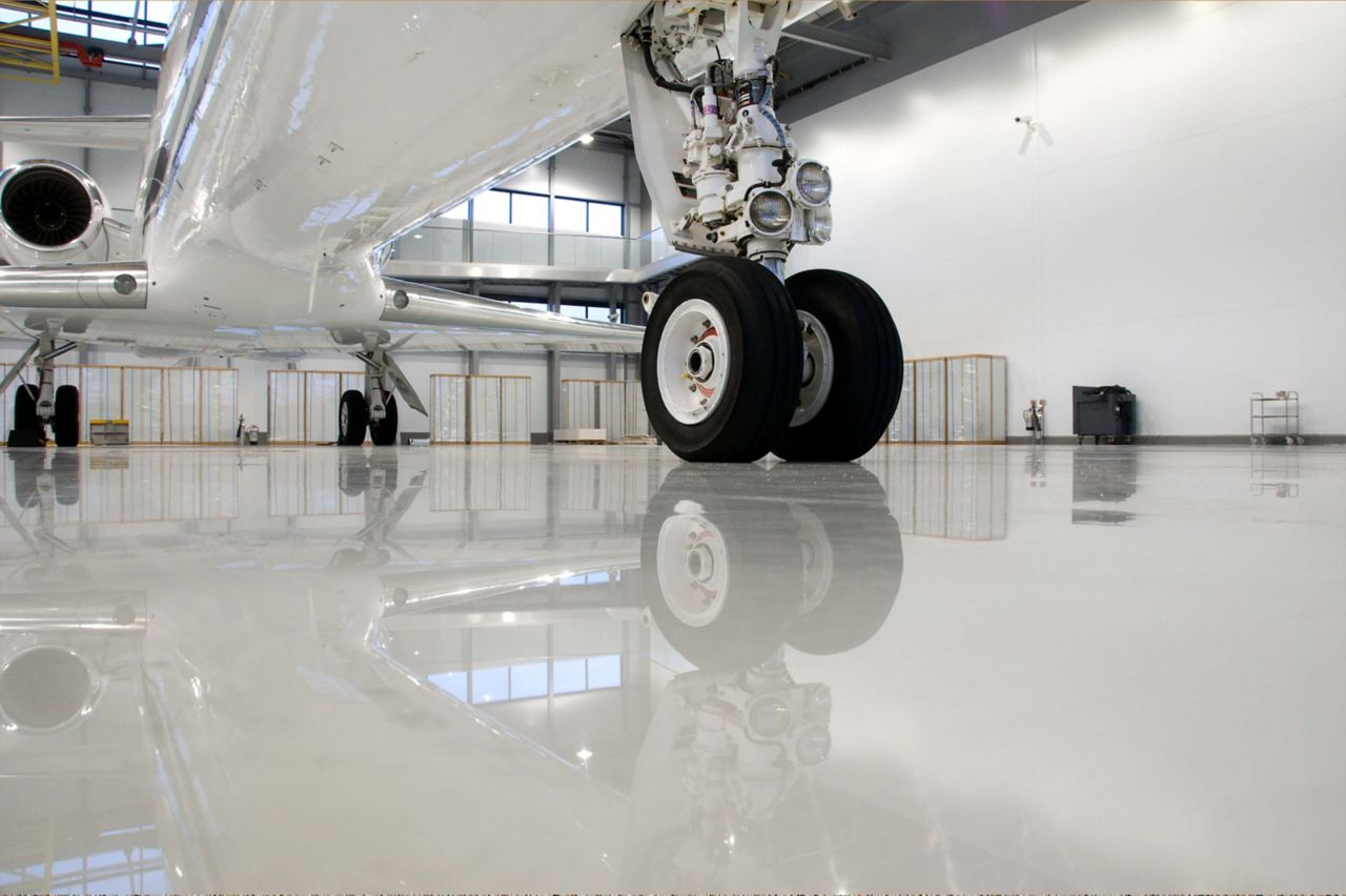 hangar floors