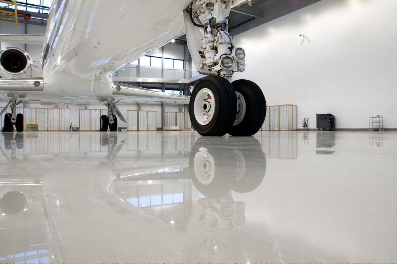 Industrial Hangar Flooring