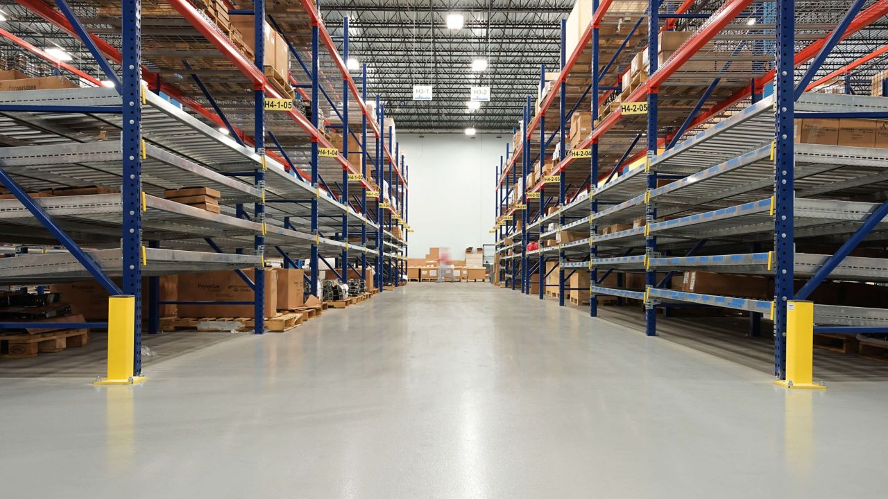Kone Warehouse Racking Areas