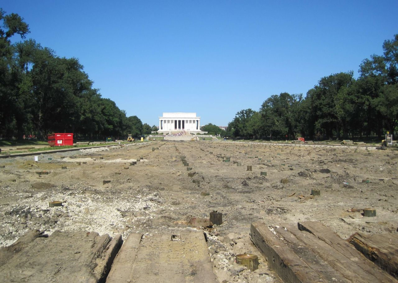 construction lincoln memorial