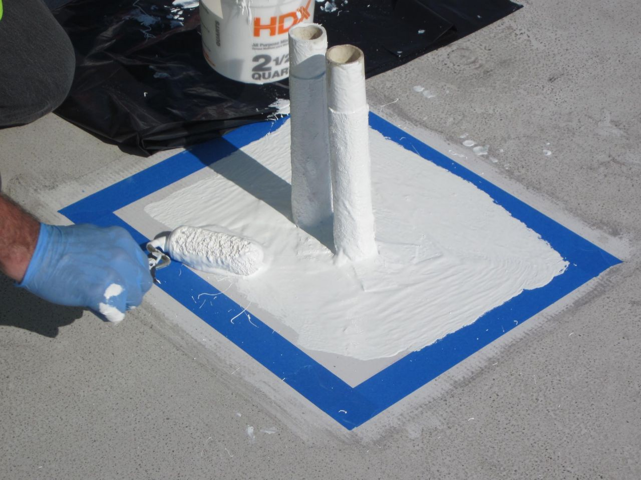 Liquid Flashing for PVC Membranes