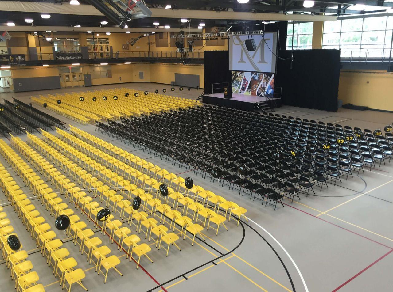Millersville University Floors