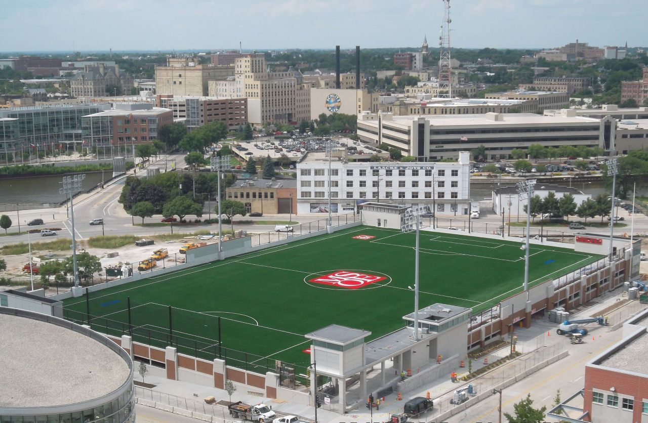 Milwaukee School of Engineering Soccer and Parking Facility