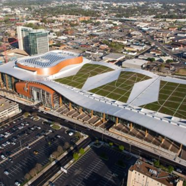 Music City Center Hits Gold