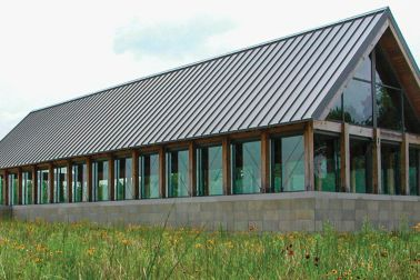 Green roof by Sika Sarnafil at the Oaklyn Branch Library