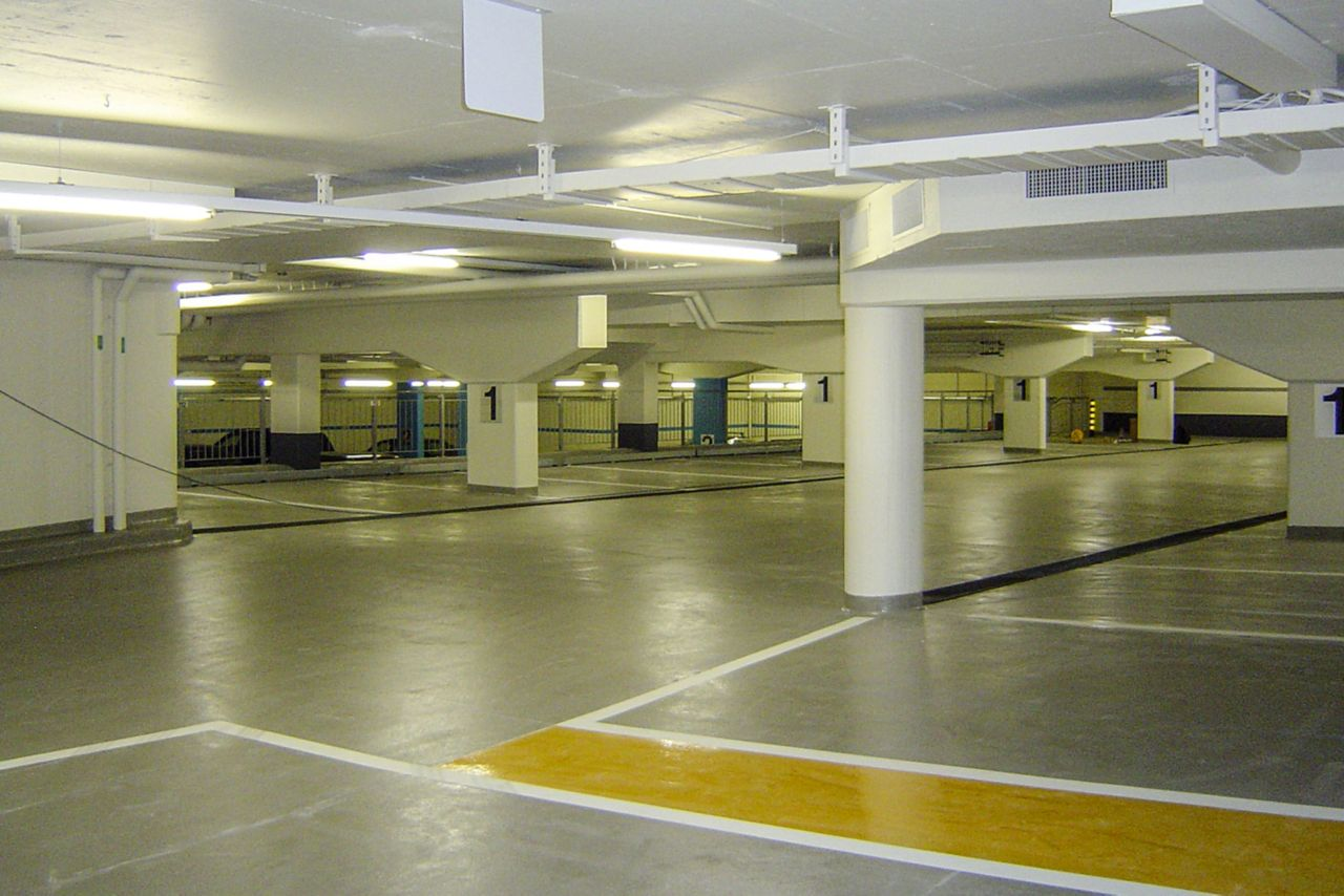 Industrial Flooring Parking Garage