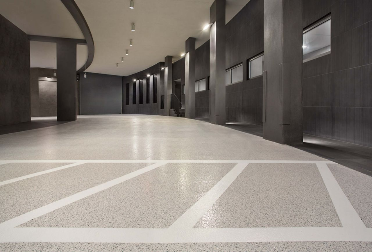 Porsche Design Center Decoflake Floor