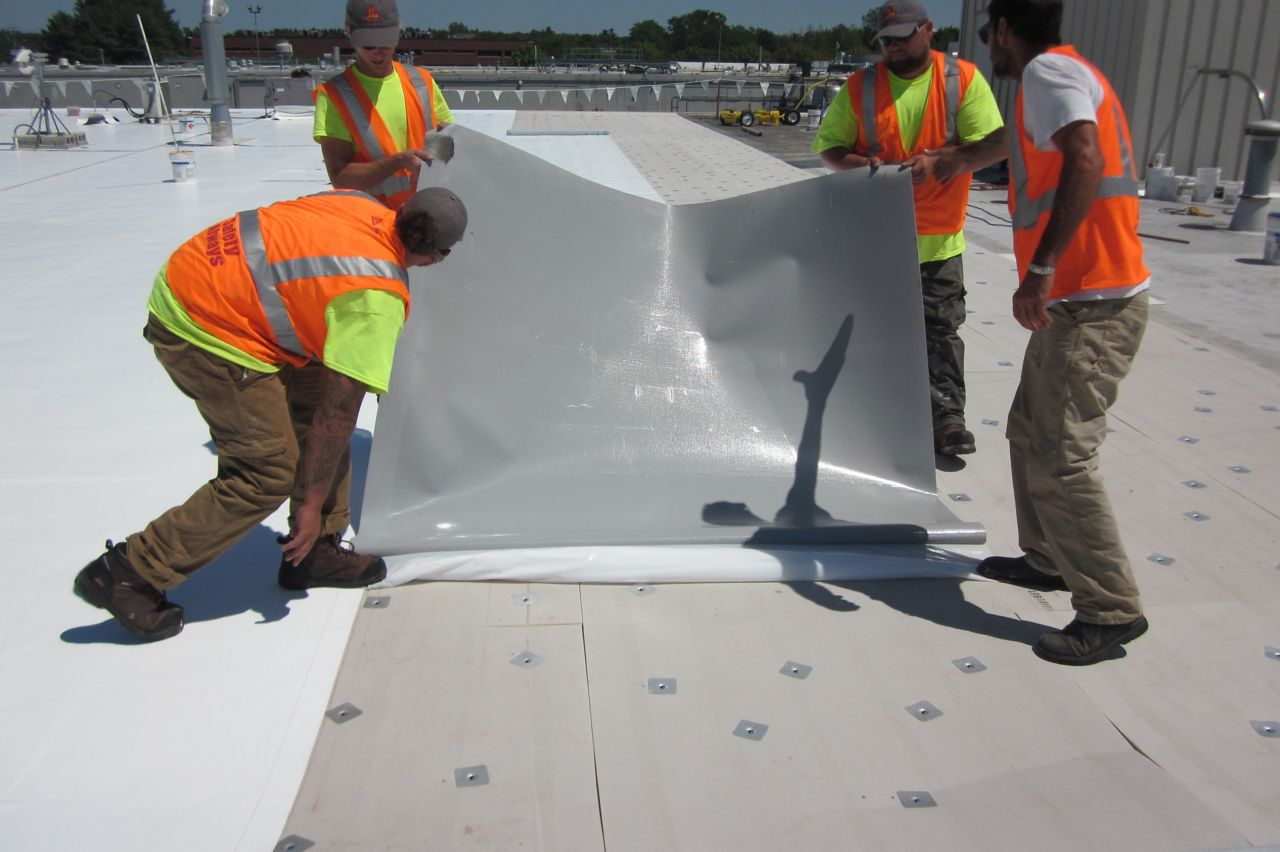 Industry's First PVC Peel and Stick Membrane