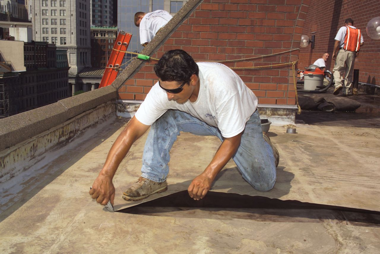 Recycling Roof Membrane
