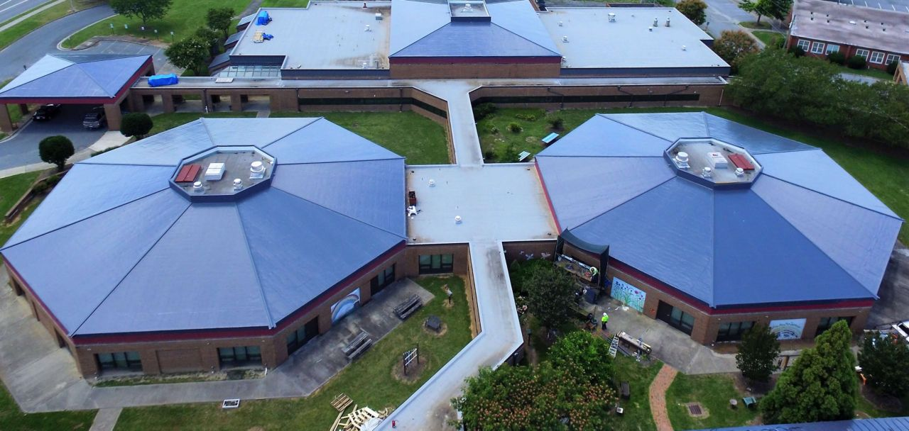Gateway Education Center with a Sarnafil Membrane Roofing System