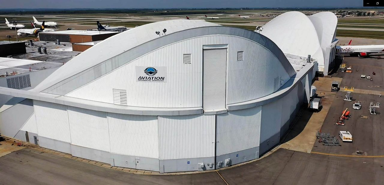 Kansas City Aviation Overhaul Base with a Sarnafil Membrane Roofing System