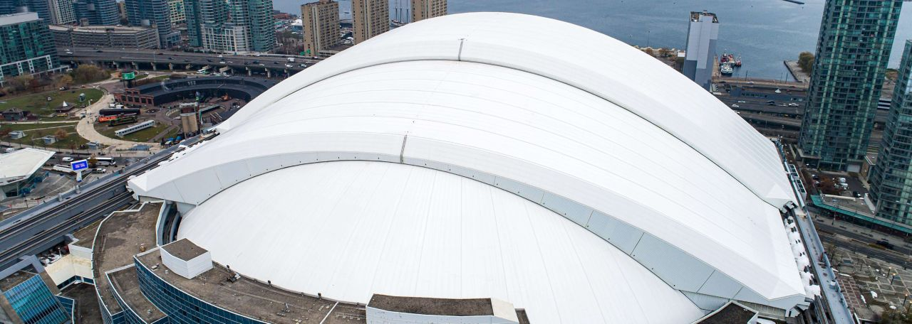 Aerial View of Rogers Centre