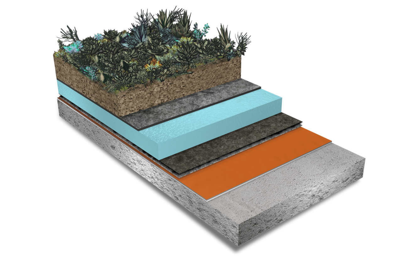 Green Roof Concrete