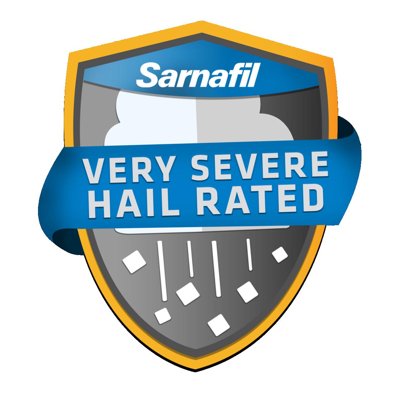 Sika Sarnafil Very Severe Hail Rated