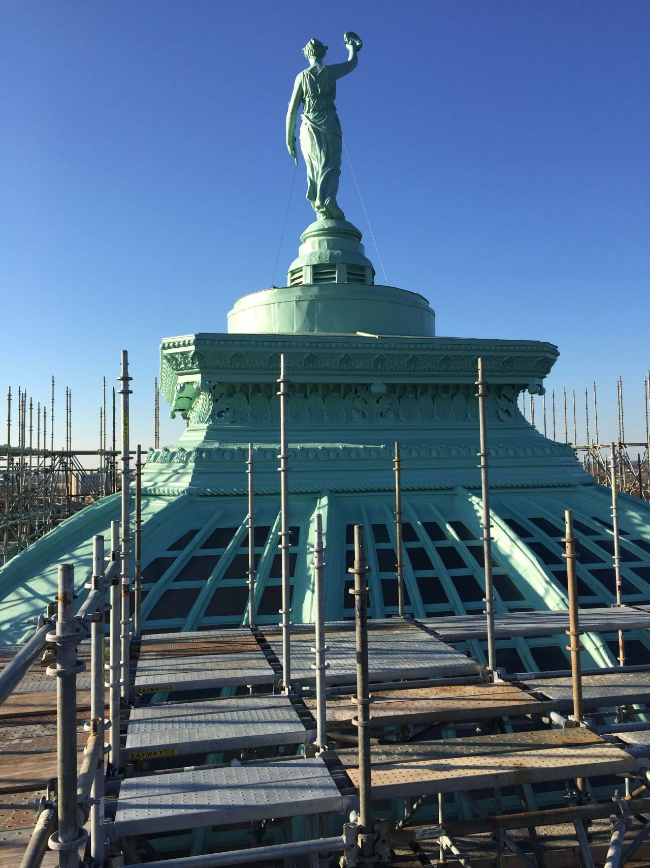 Dome restauration with Sikalastic RoofPro