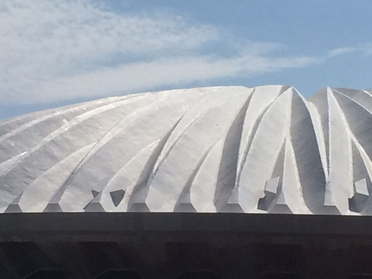 State Farm Roof with white roofpro membrane