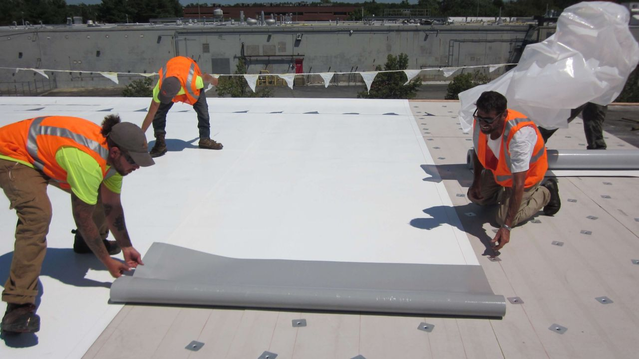 Self-adhered Sika Sarnafil Roof