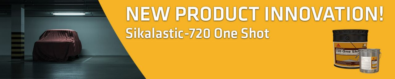 Sikalastic 720 One Shot Promotional Banner