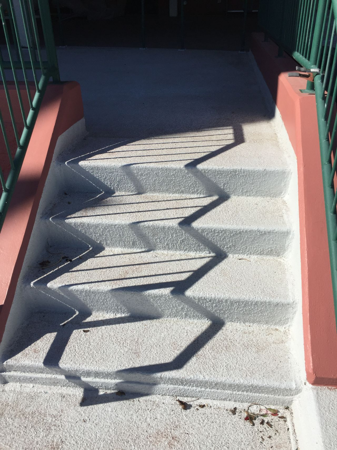 staircase with sikalastic coating