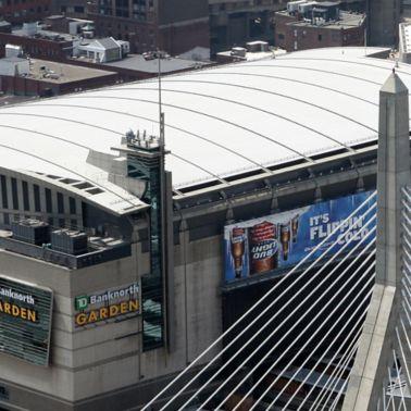 Zakim Bridge and TD Garden, Boston