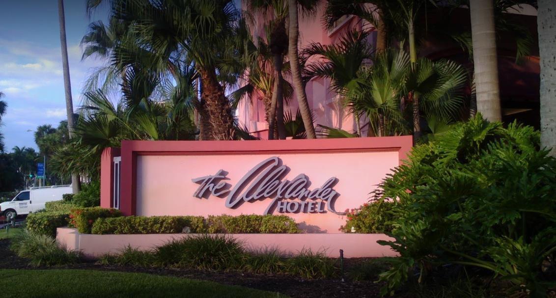 The Alexander Hotel Entrance
