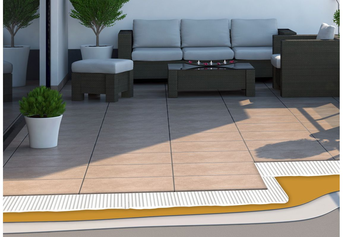 Application of SikTile® Grouts on balconies